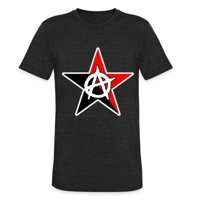 Produit local Black & Red Anarchist Star