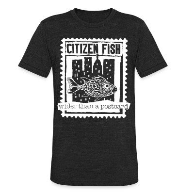 Produit local Citizen Fish - Wider than a postcard
