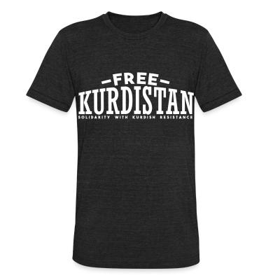 Produit local Free Kurdistan! Solidarity with kurdish resistance