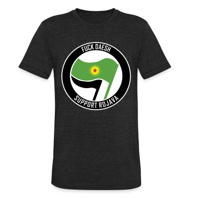 Produit local Fuck Daesh. Support Rojava