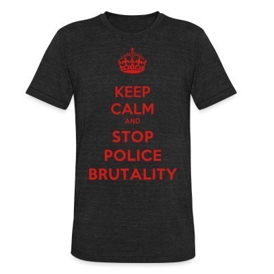 Produit local Keep calm and stop police brutality