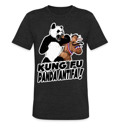 Produit local Kung fu panda antifa!