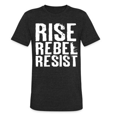 Produit local Rise Rebel Resist