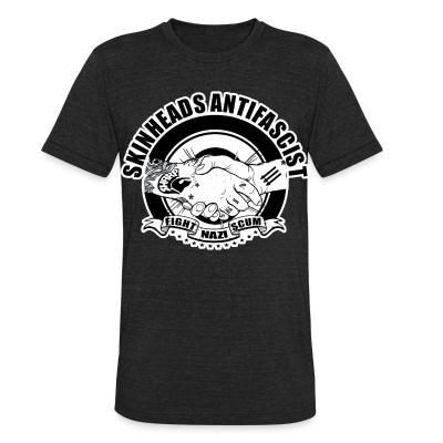 Produit local Skinheads antifascist - fight nazi scum