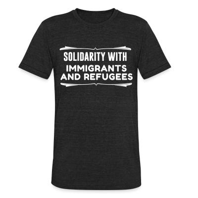 Produit local Solidarity with immigrants and refugees