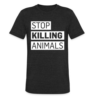 Stop killing animals