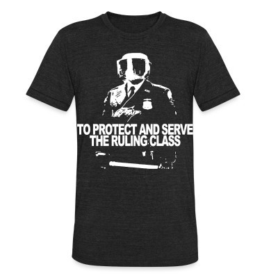 Produit local To protect and serve the ruling class