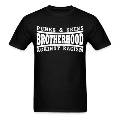 Punks & skins brotherhood against racism