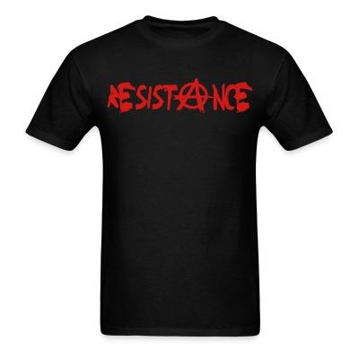 Resistance Politics - Anarchism - Anti-capitalism - Libertarian - Communism - Revolution - Anarchy - Anti-government - Anti-state