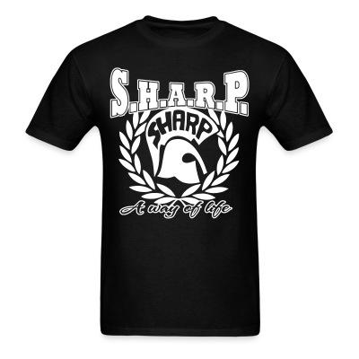 T-shirt S.H.A.R.P. a way of life