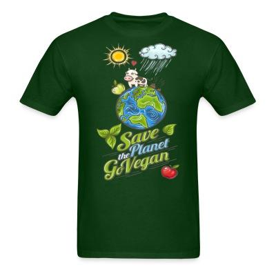 Save the planet go vegan