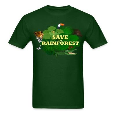 Save the rainforest