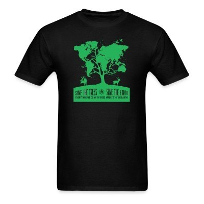 Save the trees - save the earth. Everything we do with trees affects to the earth!