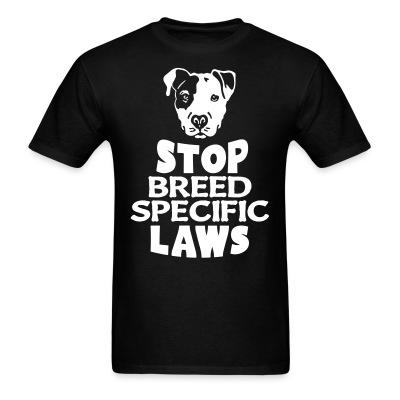 Stop breed specific laws