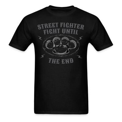 Street fighter fight until the end
