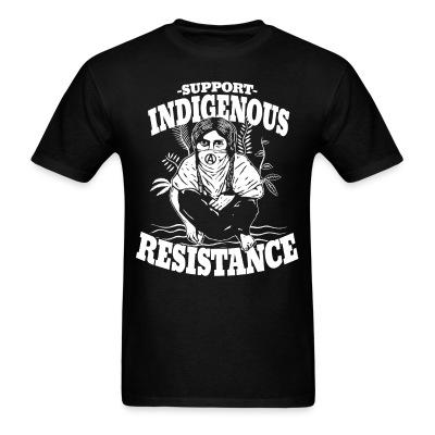 Support indigenous resistance Politics - Anarchism - Anti-capitalism - Libertarian - Communism - Revolution - Anarchy - Anti-government - Anti-state