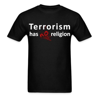 Terrorism has no religion