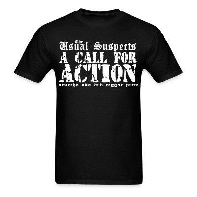 The Usual Suspects - A call for action - anarcho ska dub reggae punx