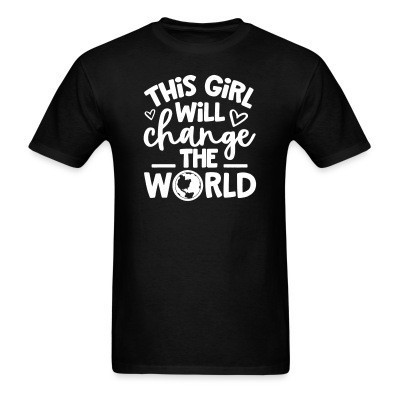This girl will change the world