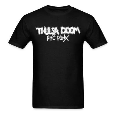T-shirt Thulsa Doom - NYC Punx