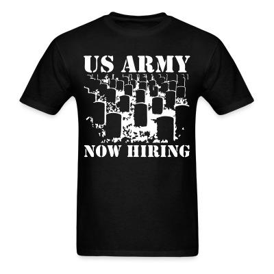 US Army now hiring