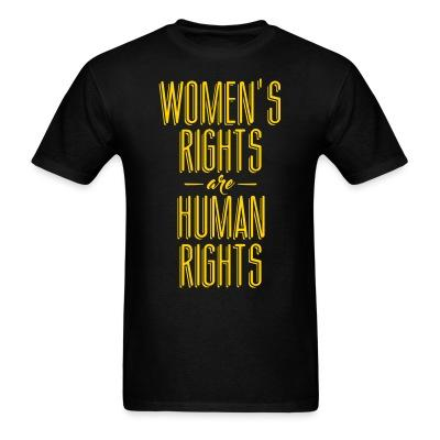 Women's rights are human rights!