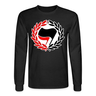 Manches longues Red & Black Antifa Flags
