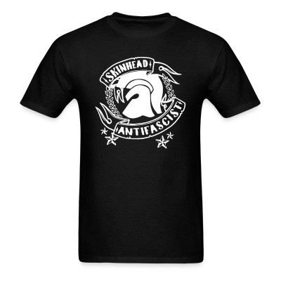 T-shirt Skinhead antifascist
