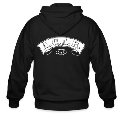 Sweat zippé A.C.A.B.