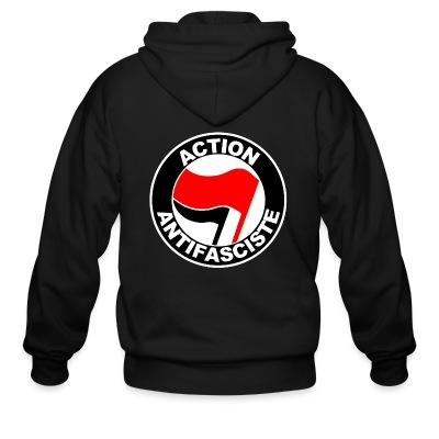 Sweat zippé Action antifasciste