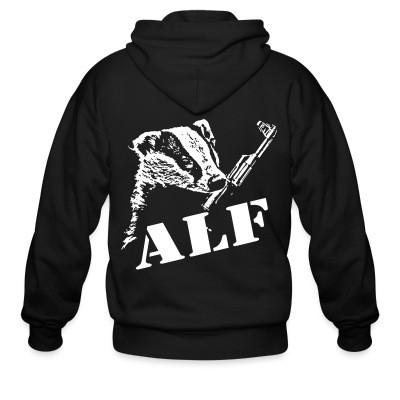 Sweat zippé ALF