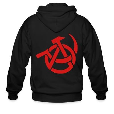 Sweat zippé Anarcho-Communism