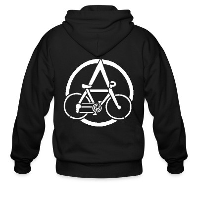 Sweat zippé Anarcho-Cyclism