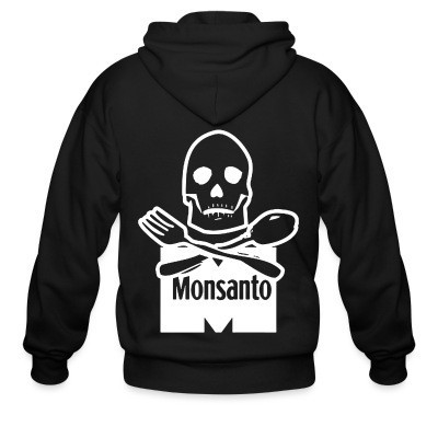 Sweat zippé Anti-Monsanto