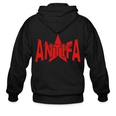 Sweat zippé Antifa