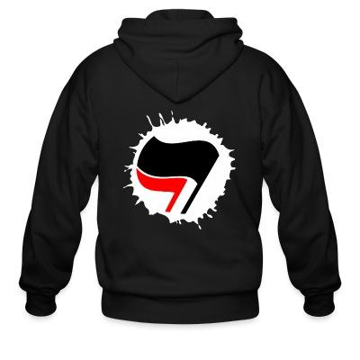 Sweat zippé Anti-Fasciste