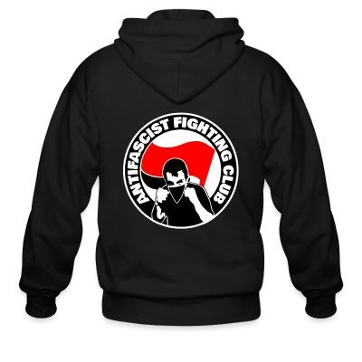 Sweat zippé Antifascist fighting club