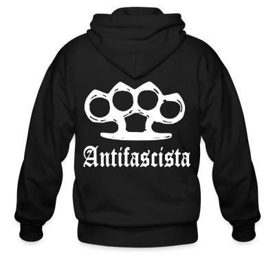 Sweat zippé Antifascista