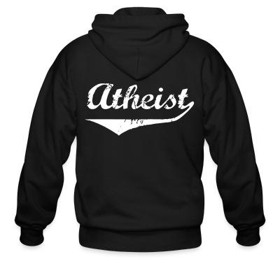 Sweat zippé Atheist