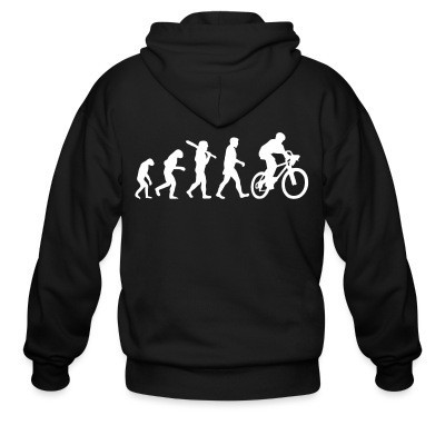 Sweat zippé Bike Evolution