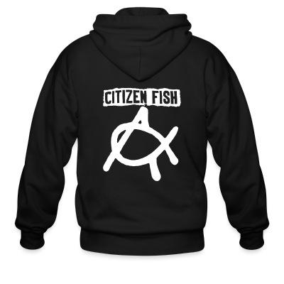 Sweat zippé Citizen Fish