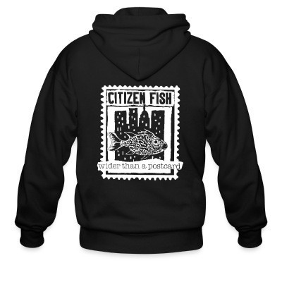 Sweat zippé Citizen Fish - Wider than a postcard