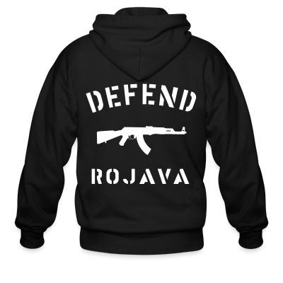 Sweat zippé Defend Rojava