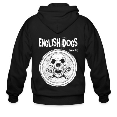 Sweat zippé English Dogs - Since 81