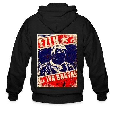 Sweat zippé EZLN ¡Ya basta!