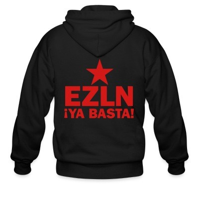 Sweat zippé EZLN Ya basta!