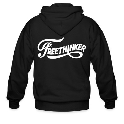 Sweat zippé Freethinker