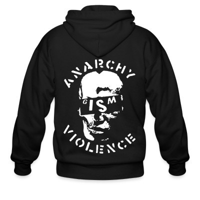 Sweat zippé G.I.S.M. - Anarchy Violence