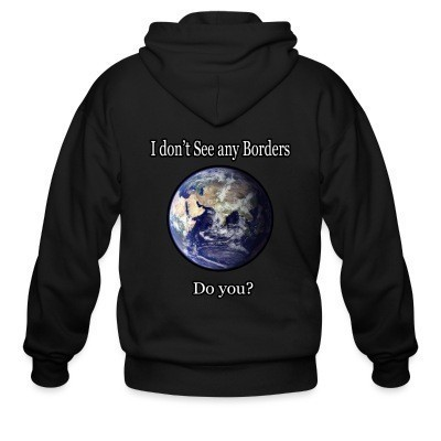 I don't see any borders. Do you?