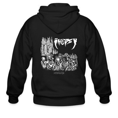 Sweat zippé Inepsy - anti-system